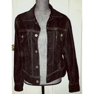 Levi's Iconic Type 1 Corduroy Jacket Large Black